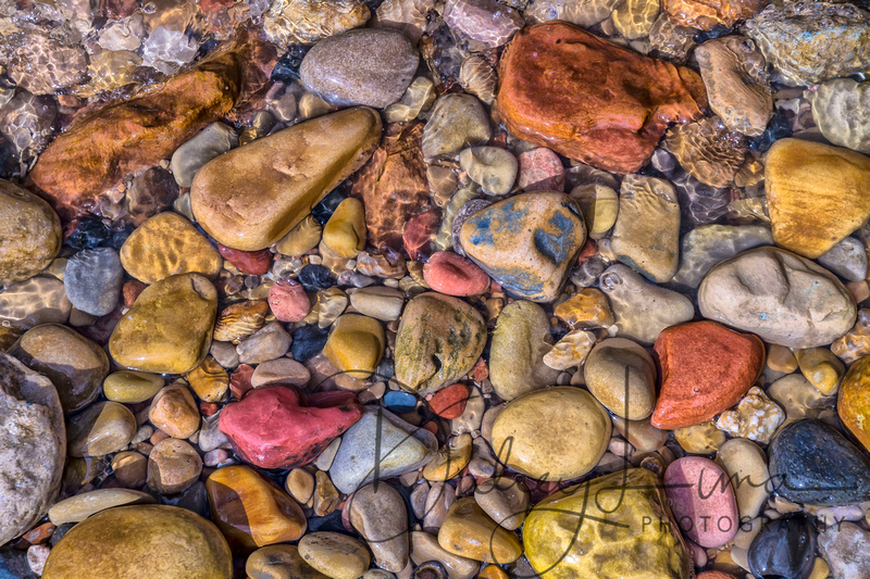 River Stones from the Virgin River