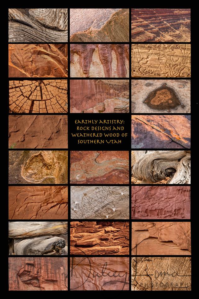 Earthly Artistry:  Rock Designs and Weathered Wood of Southern Utah