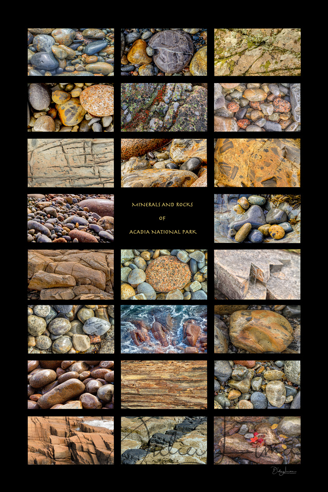 Minerals and Rocks of Acadia National Park